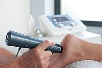 Аппарат ударно-волновой терапии для лечения пяточной шпоры